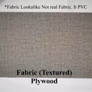 Fabric look plywood